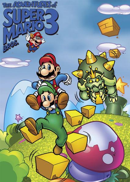 The Adventures of Super Mario Bros. 3 Netflix AU (Australia)
