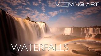 Netflix box art for Moving Art: Waterfalls