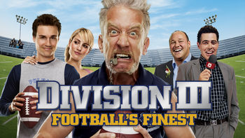 Netflix box art for Division III: Football's Finest