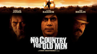 Netflix box art for No Country for Old Men
