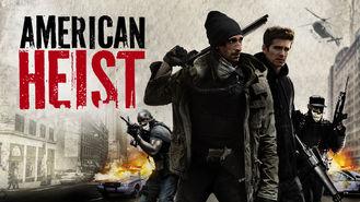 Netflix box art for American Heist