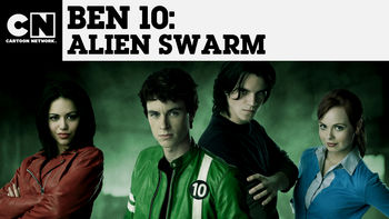 Netflix box art for Ben 10: Alien Swarm