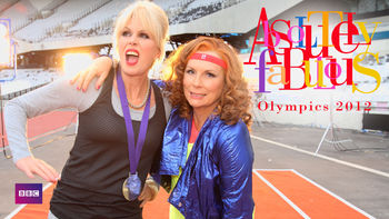 Netflix box art for Absolutely Fabulous: Olympics 2012
