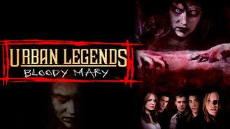 Netflix box art for Urban Legends: Bloody Mary