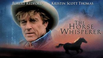 Netflix box art for The Horse Whisperer