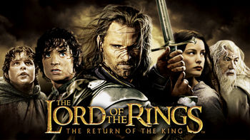 Netflix box art for Lord of the Rings: The Return of the King