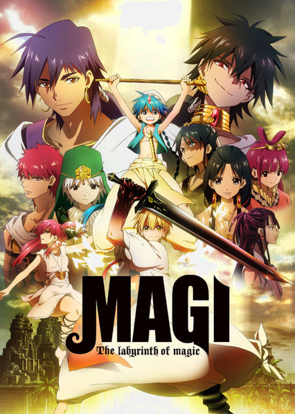Magi: The Labyrinth of Magic Netflix BR (Brazil)