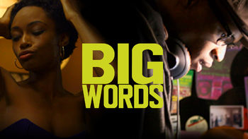 Netflix box art for Big Words
