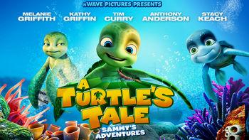 Netflix box art for A Turtle's Tale: Sammy's Adventures