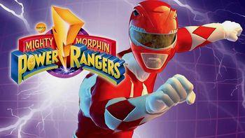 Netflix box art for Mighty Morphin Power Rangers - Season 1