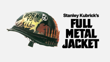 Netflix box art for Full Metal Jacket