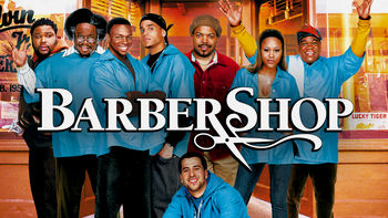 Netflix box art for Barbershop