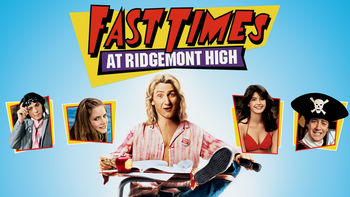 Netflix box art for Fast Times at Ridgemont High