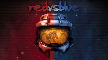 Netflix box art for Red vs. Blue - Season 1