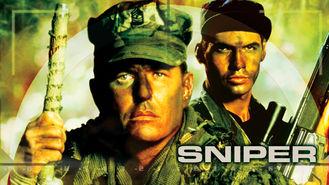 Netflix box art for Sniper