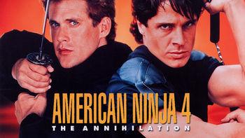 Netflix box art for American Ninja 4: The Annihilation