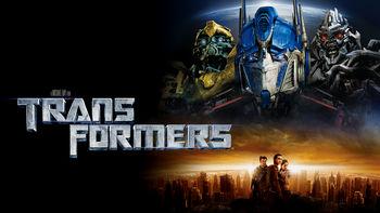 Netflix box art for Transformers