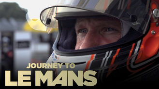 Netflix box art for Journey to Le Mans