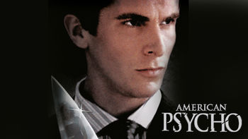 Netflix box art for American Psycho