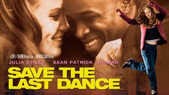 Netflix box art for Save the Last Dance
