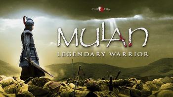 Netflix box art for Mulan: Rise of a Warrior