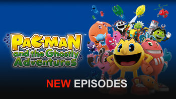 Netflix box art for Pac-Man and the Ghostly Adventures - Season 2