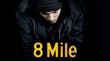 Netflix box art for 8 Mile
