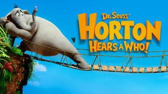 Netflix box art for Horton Hears a Who!