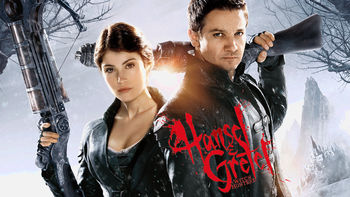 Netflix box art for Hansel & Gretel: Witch Hunters