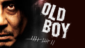 Netflix box art for Oldboy
