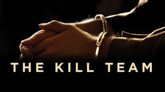 Netflix box art for The Kill Team