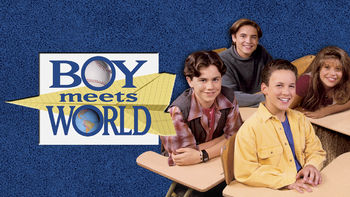 Netflix box art for Boy Meets World - Season 1