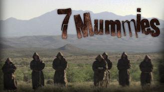 Netflix box art for 7 Mummies