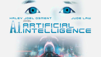 Netflix box art for A.I. Artificial Intelligence