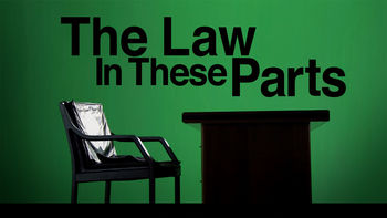 Netflix box art for The Law in These Parts