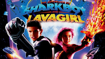 Netflix box art for The Adventures of Sharkboy & Lavagirl
