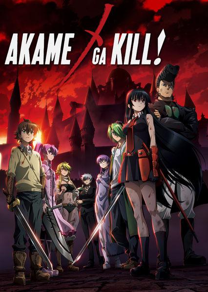 Akame ga Kill! Netflix MX (Mexico)