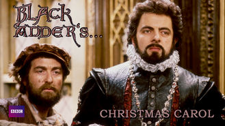 Netflix box art for Black Adder's A Christmas Carol