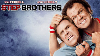 Netflix box art for Step Brothers