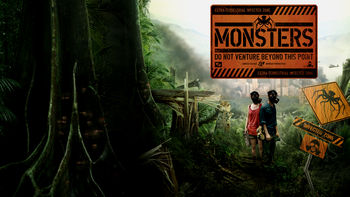 Netflix box art for Monsters