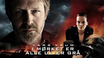 Netflix box art for Varg Veum - I mørket er alle ulver grå
