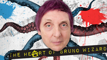 Netflix box art for The Heart of Bruno Wizard