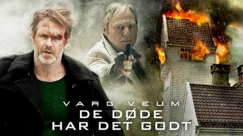 Netflix box art for Varg Veum - De døde har det godt