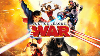 Justice league war netflix