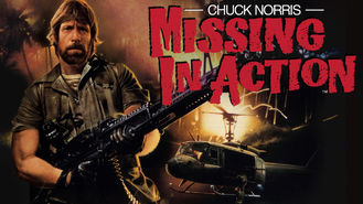 Missing in Action (1984) on Netflix in the Netherlands