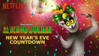 Netflix box art for King Julien - New Year's Eve Countdown