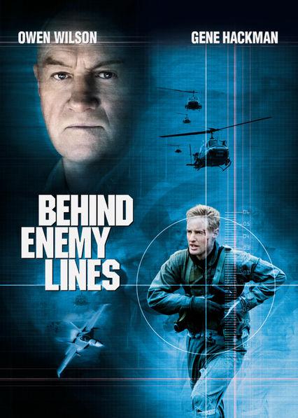 Behind Enemy Lines Netflix AU (Australia)
