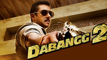 Netflix box art for Dabangg 2