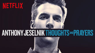 Netflix box art for Anthony Jeselnik: Thoughts and Prayers