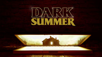 Netflix box art for Dark Summer